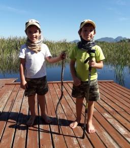 Atividade outdoor com as crianças!